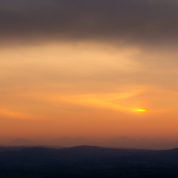 Snowdonia from Penycloddiau