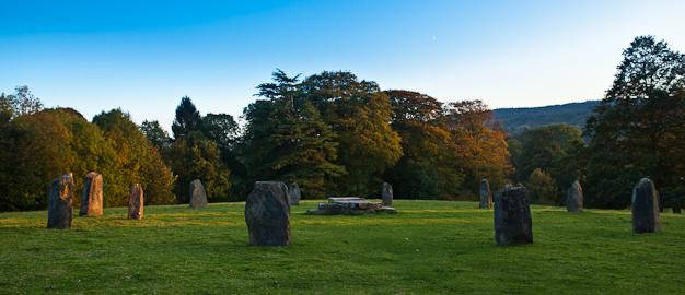 Stone Circle Ruthin, Denbighshire