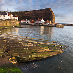 Staithes-waterfront