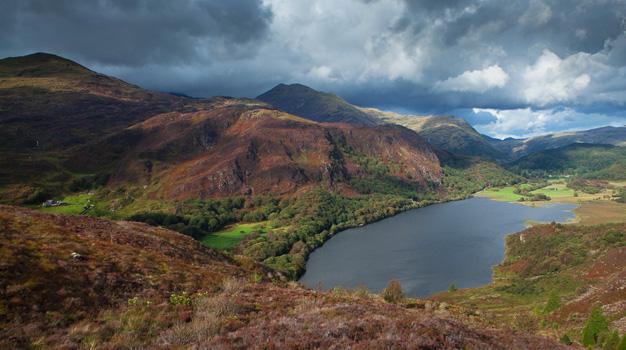Llyn Dinas - Beddgelert, Snowdonia